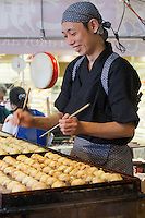 Making takoyaki - the complete set