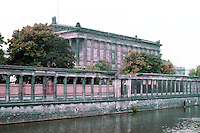 East Berlin: The National Gallery, Museum Island, 1867-1876. Photo '87.
