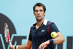 Jeremy Chardy during Madrid Open Tennis 2015 match.May, 4, 2015.(ALTERPHOTOS/Acero)