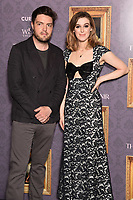 """Tom Burke and Honor Swinton-Byrne<br /> arriving for the UK gala screening of  """"The Souvenir"""" at the Curzon Mayfair, London<br /> <br /> ©Ash Knotek  D3516 27/08/2019"""