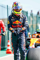 1st May 2021; Algarve International Circuit, in Portimao, Portugal; F1 Grand Prix of Portugal, qualification sessions;  Sergio Perez MEX, Red Bull Racing