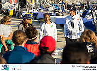 The Trofeo Princesa Sofia Iberostar celebrates this year its 50th anniversary in the elite of Olympic sailing in a record edition, to be held in Majorcan waters from 29th March to 6th April, organised by Club Nàutic S'Arenal, Club Marítimo San Antonio de la Playa, Real Club Náutico de Palma and the Balearic and Spanish federations. Photo by Beau Outteridge.
