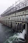 Bonneville dam in Bonneville, Oregon.
