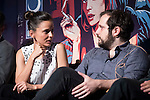 Actress Elena Anaya and Director Carlos Vermut converse during the presentation of One Night Only: Pulp Ficition at Cines Capitol in Madrid, Spain. June 22, 2015.<br />  (ALTERPHOTOS/BorjaB.Hojas)
