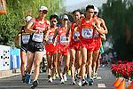(L to R) <br /> Eiki Takahashi,  <br /> Yusuke Suzuki (JPN), <br /> AUGUST 23, 2015 - Athletics : <br /> 15th IAAF World Championships in Athletics Beijing 2015 <br /> Men's 20km Race Walk Final <br /> at Beijing National Stadium in Beijing, China. <br /> (Photo by YUTAKA/AFLO SPORT)