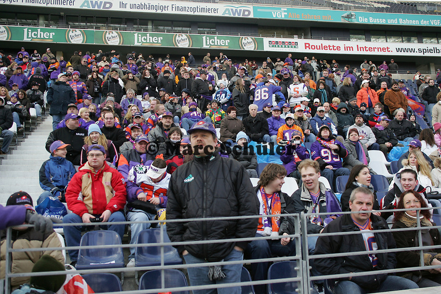 Fans beim Fan Day der Frankfurt Galaxy