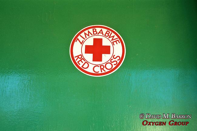 Zimbabwe Red Cross Sign
