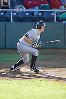 July 16, 2008:  The Eugene Emeralds' Sawyer Carroll at-bat against the Everett AquaSox during a Northwest League game at Everett Memorial Stadium in Everett, Washington.