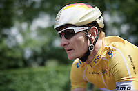 race leader André Greipel (DEU/Lotto-Soudal) underway to an overall race win<br /> <br /> stage 5: Eindhoven - Boxtel (183km)<br /> 29th Ster ZLM Tour 2015
