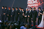 Wanna One, Dec 12, 2018 : South Korean boy band Wanna One attends the red carpet ceremony of 2018 Mnet Asian Music Awards (MAMA) in Saitama, Japan on December 12, 2018. (Photo by AFLO)