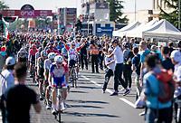 Caleb Ewan (AUS/Lotto-Soudal) wins the bunch sprint into Novi Ligure<br /> <br /> Stage 11: Carpi to Novi Ligure (221km)<br /> 102nd Giro d'Italia 2019<br /> <br /> ©kramon