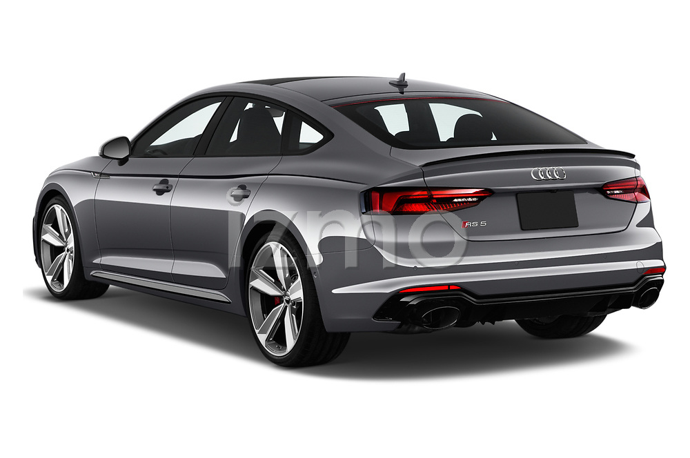 Car pictures of rear three quarter view of 2019 Audi RS-5-Sportback - 5 Door Hatchback Angular Rear