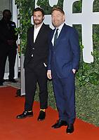 "12 September 2021 - Toronto, Ontario, Canada - Jamie Dornan, Kenneth Branagh. 2021 Toronto International Film Festival - ""Belfast"" Premiere held at Roy Thomson Hall. Photo Credit: Brent Perniac/AdMedia"
