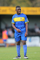 Ayo Olukoga of Romford during Romford vs Coggeshall Town, Bostik League Division 1 North Football at Rookery Hill on 13th October 2018