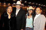 From left: Genora Boykins, Ernest Collins, Kae Shakir and Angela Myres at the 17th Annual Black Heritage Western Gala at the Reliant Center Saturday Jan. 30,2010.(Dave Rossman Photo)