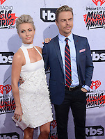 Julianne Hough + brother Derek Hough @ the 2016 iHeart Radio Music awards held @ the Forum.<br /> April 3, 2016