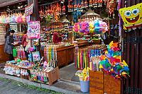 Yangzhou, Jiangsu, China.  Dong Guan Street Store Selling Miscellaneous Souvenir Items.