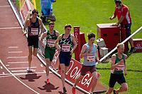 4th July 2021; Stockholm Olympic Stadium, Stockholm, Sweden; Diamond League Grand Prix Athletics, Bauhaus Gala; Piers Copeland of Great Britain in the mens 800m race