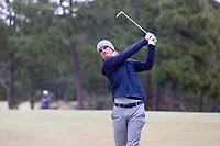 PINEHURST, NC - MARCH 02: Dan Sheehan of Augusta University tees off on the sixth hole at Pinehurst No. 2 on March 02, 2021 in Pinehurst, North Carolina.