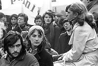 - student manifestation  (Milan, 1976)<br /> <br /> - manifestazione studentesca  (Milano, 1976)