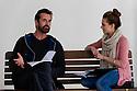 Pygmalion Rehearsals, Rupert Everett & Kara Tointon