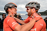 Collin Joyce Rally Cycling wins Stage 2 of the 2018 Artic Race of Norway, running 195km from Tana to Kjøllefjord, Norway. 17th August 2018. <br /> <br /> Picture: ASO/Gautier Demouveaux | Cyclefile<br /> All photos usage must carry mandatory copyright credit (© Cyclefile | ASO/Gautier Demouveaux)