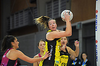 Central's Abby Erwood in action during the National Netball League match between Central Manawa and Southern Blast at Te Rauparaha Arena in Porirua, New Zealand on Sunday, 10 May 2021. Photo: Dave Lintott / lintottphoto.co.nz