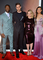 "LOS ANGELES, CA: 24, 2020: Aldis Hodge, Oliver Jackson-Cohen, Elisabeth Moss, & Storm Reid at the premiere of ""The Invisible Man"" at the TCL Chinese Theatre.<br /> Picture: Paul Smith/Featureflash"