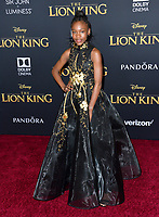 "LOS ANGELES, USA. July 10, 2019: Demi Singleton at the world premiere of Disney's ""The Lion King"" at the Dolby Theatre.<br /> Picture: Paul Smith/Featureflash"