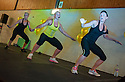 The  Les Mills Instructors at the Grangemouth Sports Complex Taster Sessions.