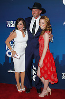 """HOLLYWOOD, LOS ANGELES, CA, USA - APRIL 29: Patricia Heaton, Trace Adkins, Sarah Drew at the Los Angeles Premiere Of TriStar Pictures' """"Mom's Night Out"""" held at the TCL Chinese Theatre IMAX on April 29, 2014 in Hollywood, Los Angeles, California, United States. (Photo by Xavier Collin/Celebrity Monitor)"""