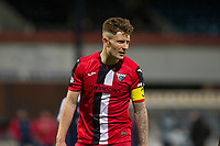27th March 2021; Dens Park, Dundee, Scotland; Scottish Championship Football, Dundee FC versus Dunfermline; Euan Murray of Dunfermline Athletic
