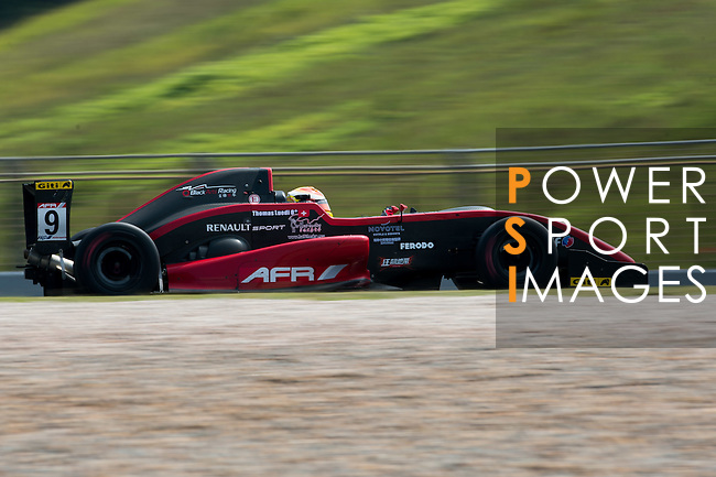 Thomas Leudi of BlackArts Racing drives during the 2015 AFR Series as part of the 2015 Pan Delta Super Racing Festival at Zhuhai International Circuit on September 18, 2015 in Zhuhai, China.  Photo by Aitor Alcalde / Power Sport Images