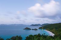 Trunk Bay Dusk<br /> St John<br /> Virgin Islands National Park