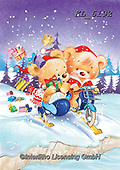 CHRISTMAS ANIMALS, WEIHNACHTEN TIERE, NAVIDAD ANIMALES, paintings+++++,KL6192,#xa#