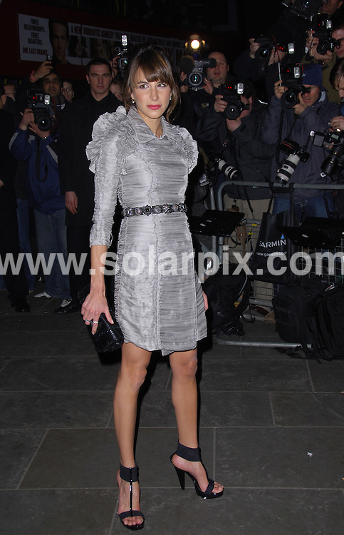 **ALL ROUND PICTURES FROM SOLARPIX.COM**.**WORLDWIDE SYNDICATION RIGHTS**.Burberry and Vanity Fair preview party at the National Portrait Gallery. Monday, February 11th 2008   ..This pic: Caroline Sieber..JOB REF: 5751 MSR    DATE: 11_02_2008.**MUST CREDIT SOLARPIX.COM OR DOUBLE FEE WILL BE CHARGED* *UNDER NO CIRCUMSTANCES IS THIS IMAGE TO BE REPRODUCED FOR ANY ONLINE EDITION WITHOUT PRIOR PERMISSION*