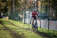 eventual race winner Yara Kastelijn (NED/777)<br /> <br /> Womens Race<br /> 42nd Superprestige cyclocross Gavere 2019<br /> <br /> ©kramon
