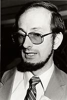 Yves Berube<br /> , 1984<br /> <br /> <br /> PHOTO : Agence Quebec Presse