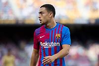 26th September 2021; Nou Camp, Barcelona, Spain: La Liga football, FC Barcelona versus Levante: Dest Barcelona player watches play