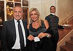 FRANCESCO BELLAVISTA CALTAGIRONE E MARA VENIER<br /> CHARITY DINNER VILLA LETIZIA 2009 ORGANIZZATO DA EMMA BONINO