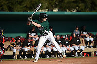 Plymouth State Panthers Paul Reny (15) during the first game of a doubleheader against the Edgewood Eagles on March 17, 2015 at Terry Park in Fort Myers, Florida.  Edgewood defeated Plymouth State 12-3.  (Mike Janes/Four Seam Images)