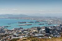 Kapstadt Hafen, Seehafen: AFRIKA, SUEDAFRIKA, 21.01.2020:Kapstadt Hafen, Seehafen