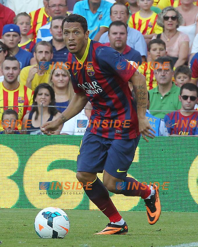 ADRIANO ( FC Barcelone )<br /> <br /> Football Calcio 2013/2014 <br /> Spagna La Liga<br /> Foto Panoramic / Insidefoto
