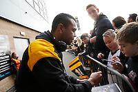 Photo: Richard Lane/Richard Lane Photography. Wasps v Leicester Tigers. Aviva Premiership. 08/01/2017. Wasps' Kurtley Beale.