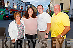 Sharon and Kenneth Cronin from Tralee celebrating their 11th wedding anniversary in the Brogue Inn on Saturday.<br /> L to r: Rosarie, Sharon, Kenneth and Eddie Cronin.