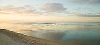 Beach, surf, sky, Peconic Bay, NY