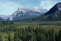 Alberta, CANADA, 1974 File Photo - Banff Park