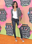 Zoe Saldana at Nickelodeon's 23rd Annual Kids' Choice Awards held at Pauley Pavilion in Westwood, California on March 27,2010                                                                                      Copyright 2010 © DVS / RockinExposures