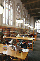 Law School library, Yale University, New Haven, CT
