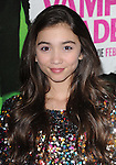 Rowan Blanchard attends The Weinstein Company L.A. Premiere of Vampire Academy held at The Premiere House at Regal Cinemas L.A. Live Stadium 14 in Los Angeles, California on February 04,2014                                                                               © 2014 Hollywood Press Agency